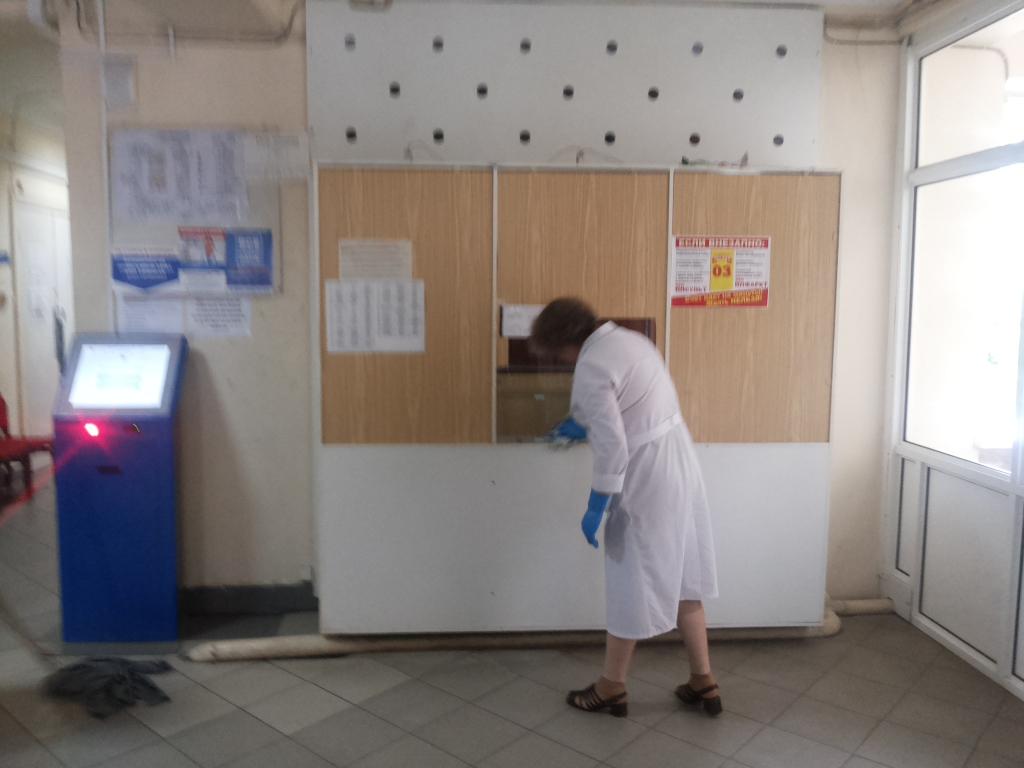 Прием врачей детской поликлиники на токарева